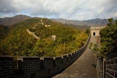 Die Chinesische Mauer in China Stockbild