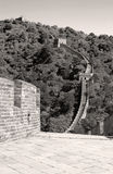 Die Chinesische Mauer des Porzellans Stockbilder
