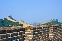 Die Chinesische Mauer, ein Standort Badaling Stockbilder