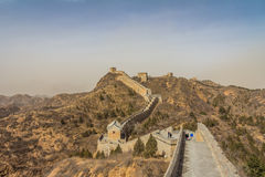 Die Chinesische Mauer - Peking China Lizenzfreie Stockfotos