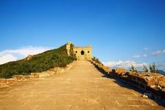 Die Chinesische Mauer, Peking, China stockfotos