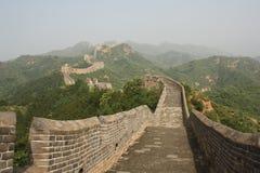 Die Chinesische Mauer von China stockfotografie