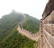 Die Chinesische Mauer von China Lizenzfreie Stockfotos