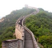 Die Chinesische Mauer von China Stockbild
