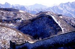Die Chinesische Mauer von China stockfotos