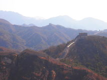 Die Chinesische Mauer von China bei Badaling Stockfoto