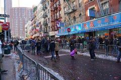 Die chinesische Mondparade 211 des neuen Jahr-2015 Lizenzfreies Stockfoto