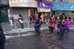 Die chinesische Mondparade 223 des neuen Jahr-2015 Lizenzfreie Stockfotos