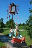 Die chinesische Skulptur Stockfotografie