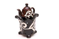 Die chinesische Teekanne Stockfotos