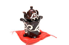 Die chinesische Teekanne Lizenzfreie Stockfotografie