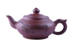 Die chinesische Teekanne Stockfotografie