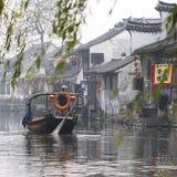 Die chinesische Wasserstadt - Xitang Stockbild