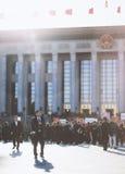 Die chinesischen jährlichen Sitzungen von 12. NPC und von CPPCC lizenzfreies stockfoto