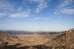 Die Chisos Berge in der großen Schlaufe Lizenzfreie Stockfotografie
