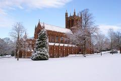 Die Crichton Erinnerungskirche, Dumfries lizenzfreies stockfoto