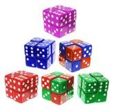 Die Cubes Stock Image