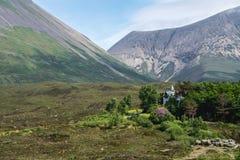 Die Cuillin-Berge, Insel von Skye, inneres Hebrides, Schottland, U stockfotografie