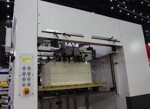 The die cutting machine. The  die cutting machine ; Close up Stock Photos