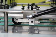 The die cutting machine. The  die cutting machine ; Close up Royalty Free Stock Photo