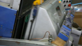 Die cutting machine Royalty Free Stock Image