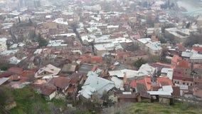 Die Dächer der alten Stadt Lizenzfreie Stockfotos