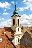 Die Dächer von Szentendre Lizenzfreies Stockfoto