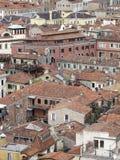 Die Dächer von Venedig Stockfotos
