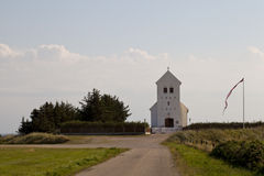 Die dänische Kirche Stockfotografie