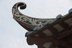 Die Dachgesimse Lizenzfreies Stockfoto
