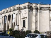 Die Dame Lever Art Gallery des Portsonnenlichts, hergestellt von William Hesketh Lever für seine SonnenlichtSeifenfabrikarbeitskr stockfotos
