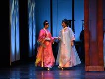 Die Damen der Gerichtöffnung die ersten Tat-modernen Drama Kaiserinnen im Palast Lizenzfreie Stockbilder
