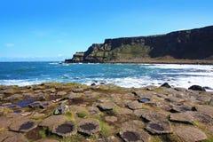 Die Damm des Riesen, Nordirland stockfotografie
