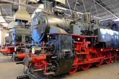 Die Dampflokomotive Stockbilder