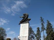 Die Dankbarkeit zu Frankreich-Monument in Serbien, Belgrad Lizenzfreies Stockbild