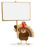 Die Danksagungs-Türkei-Zeichen vektor abbildung