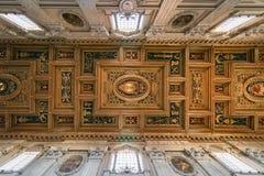 Die Decke der Basilika von St. Giovanni in Rom-Basilika-St. stockbilder