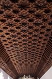 Die Decke in der Synagoge von EL Transito, sobald alias das ' Synagoge Samuel ha-Levi' ist ein historisches Gebäude herein stockbild