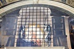 Die Decke in einem der Räume am 24. Mai 2011 im Vatikan-Museum, Rom, Italien Lizenzfreies Stockfoto