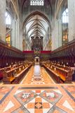Die Decke in Gloucester-Kathedrale lizenzfreies stockfoto