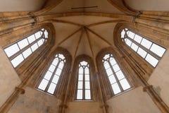 Die Decke von St. Salvator Church Stockbild
