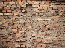 Die defekte Wand Stockbild