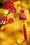 Die Dekoration des Chinesischen Neujahrsfests Stockfotografie