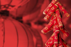 Die Dekoration des Chinesischen Neujahrsfests Lizenzfreie Stockbilder