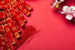 Die Dekoration des Chinesischen Neujahrsfests Stockbild