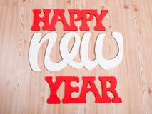 Die Dekorationen des neuen Jahres Lizenzfreie Stockfotos