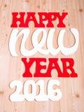Die Dekorationen des neuen Jahres Lizenzfreies Stockfoto