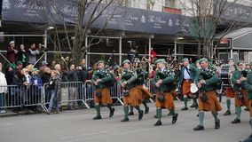 Die Des St Patrick Tagesparade 2015 188 Lizenzfreies Stockbild