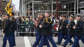 Die Des St Patrick Tagesparade 2015 197 Stockfotografie