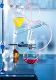 Die Destillationsinstallierung Lizenzfreies Stockfoto